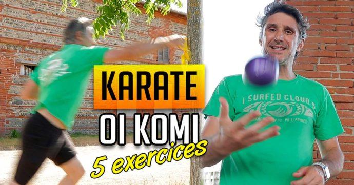 Karate Oi Komi Tsuki - 5 Exercices