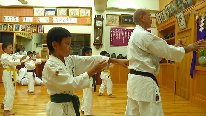 Uechi-Ryu Kenyukai Hombu Dojo – Kiyohide Shinjo