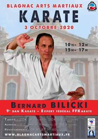 stage karate bernard bilicki