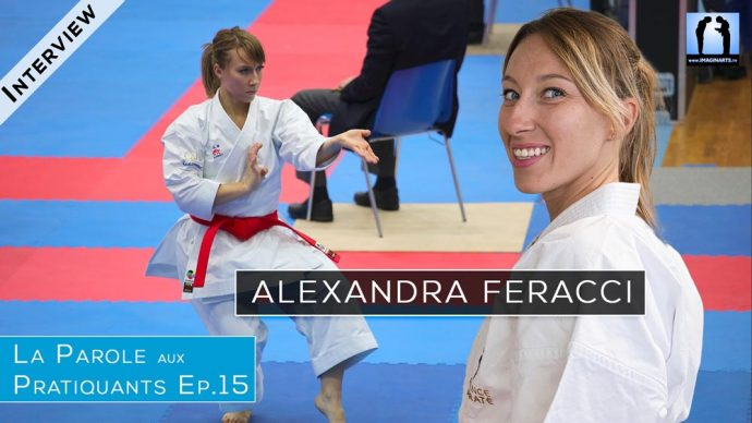 Alexandra Feracci - kata karaté - Interview podcast