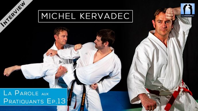 Michel Kervadec - interview Karate