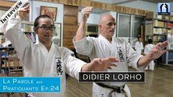 Didier Lorho - interview karate uechi ryu okinawa