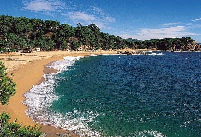 La plage municipale pour des stages de karaté d'été inoubliable