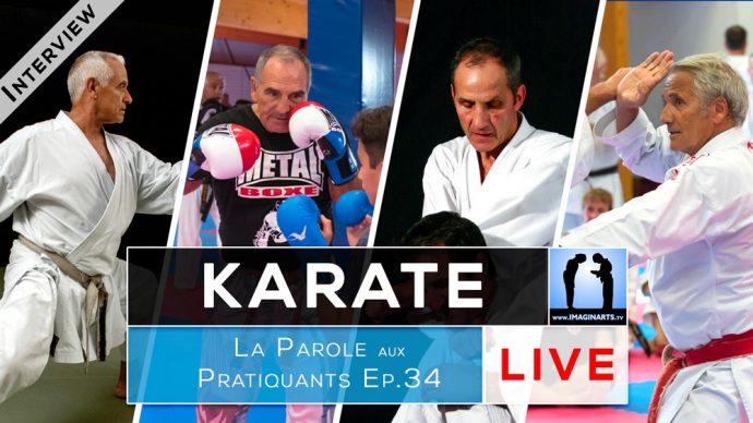 4 sensei karate en interview : Lavorato, Bilicki, Valéra et Chouraqui