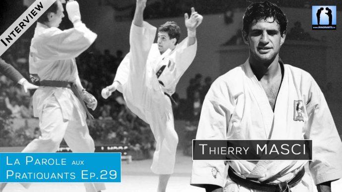 Interview Thierry Masci : double champion du monde karate combat