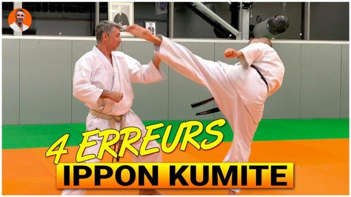 4 erreurs en ippon kumite karate avec Lionel Froidure