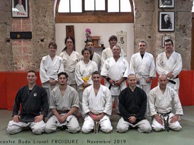 stage karate St JEan en Royans - novembre 2019